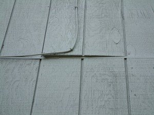 plywood siding maintanence
